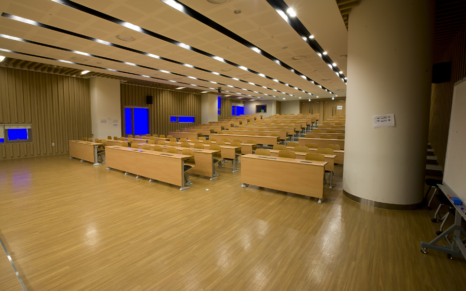Songdo Yonsei University Lecture Room_1 – soleno